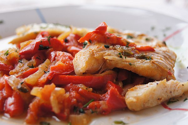 Dorsz Z Papryka I Sosem Pomidorowym Thermomix Przepisy