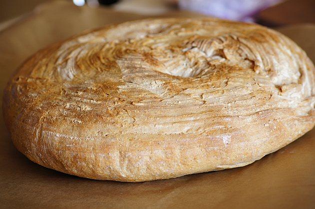 chleb na zakwasie pszenny
