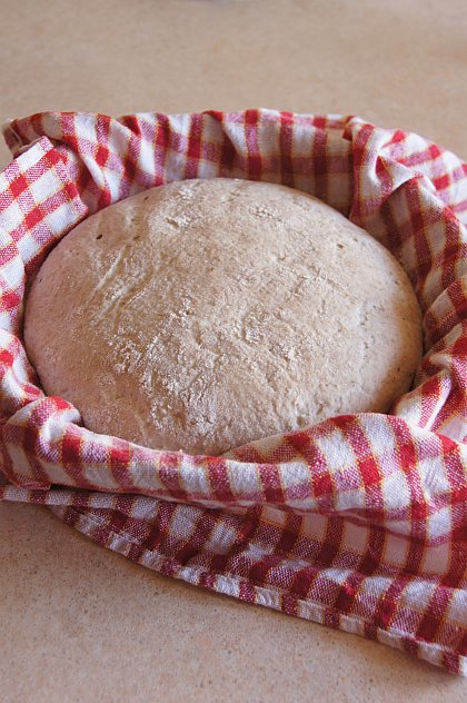 chleb jeczmienny zakwas