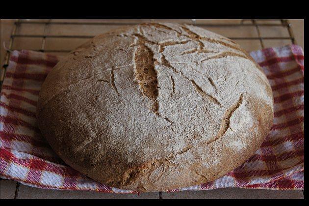 chleb jęczmienny na zakwasie