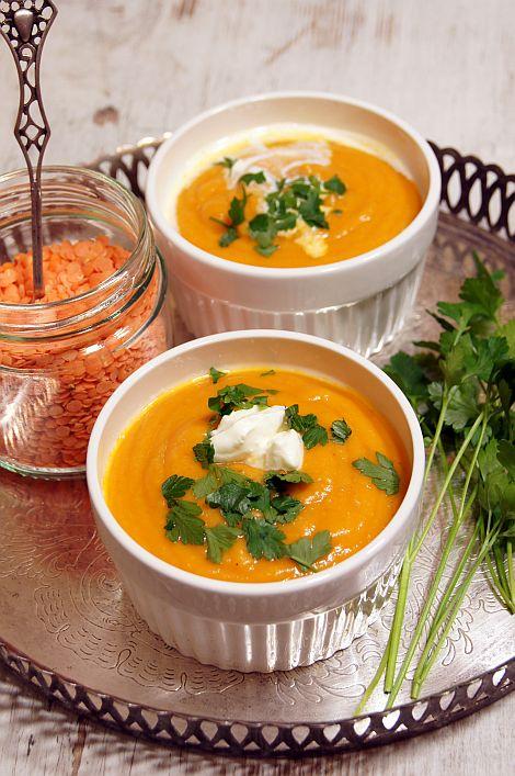 Zupa Z Czerwona Soczewica Thermomix Przepisy