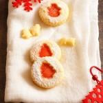 Thermomix przepisy. Świąteczne ciasteczka z galaretką.