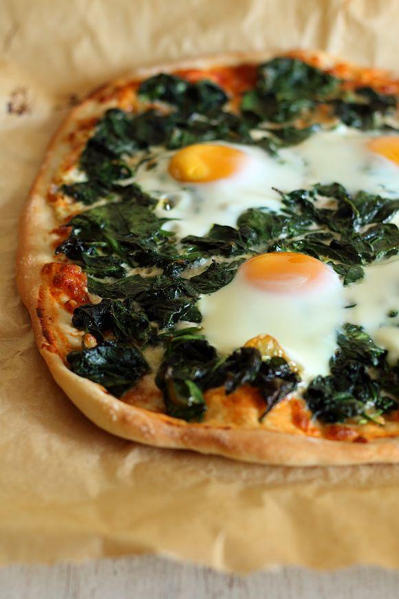 Przepisy Thermomix. Pizza florentyńska.