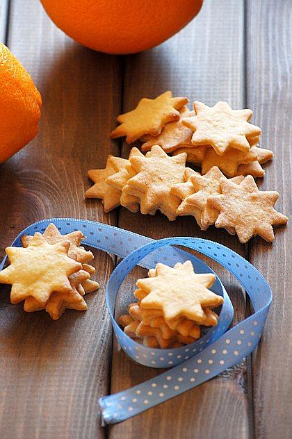 thermomix pomarańczowe ciasteczka