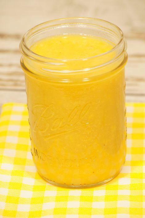 Thermomix przepisy. Smoothie z mango i banana.