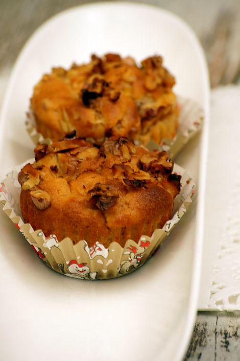 Przepisy Thermomix. Muffiny z jabłkami.
