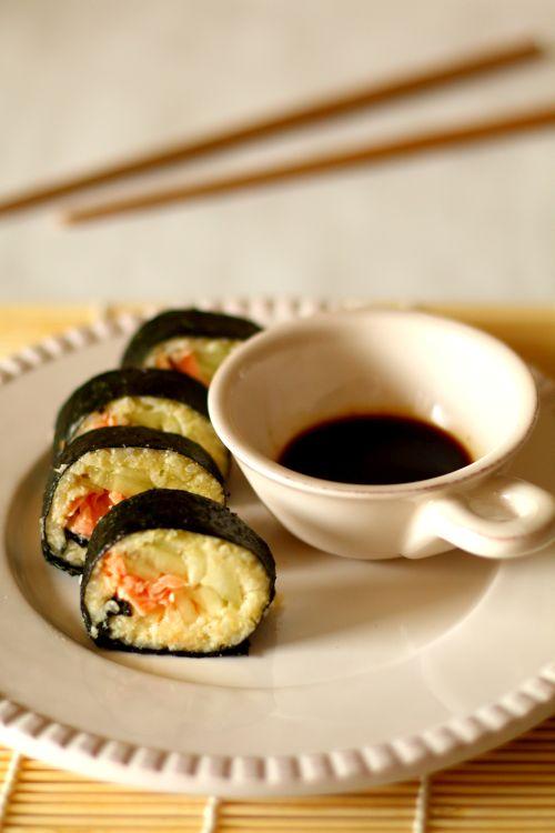 Thermomix przepisy. Sushi z kaszy jaglanej